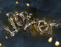 Joker Typography Art