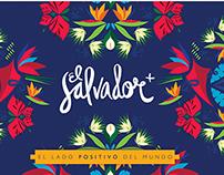 El Salvador+ El Lado Positivo Del Mundo - Marca País