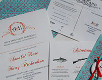 A+H Wedding Stationary