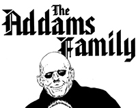 """""""MY 90's SUPER HEROES NEVER DIE"""" : THE ADDAMS FAMILY"""