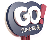 Identidade Visual - Go! Fun English.