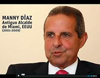 Entrevista a Manny Díaz - Ex Alcalde de Miami, EEUU