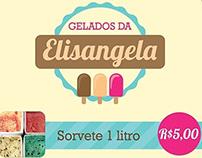Banner para sorveteria