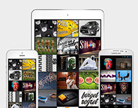 Creative Portfolio for iOS and Android
