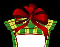Christmas Ornament Frames