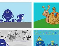 Illustrations for EU kids news