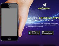 Universe - Mobile Application