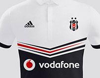 Beşiktaş JK Adidas Away Kit 2014 2015