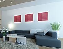 Residential Villa Modern Living Room Interior Design