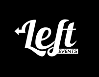 Logótipo Left Events