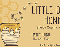 Little Dipper Honey Business Card 2014