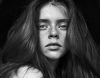 Antonina . Model test . Aquarelle Models