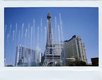 Instant Film Photography: Las Vegas