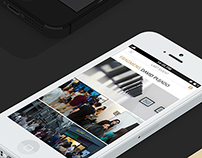 Mobile App Design For Gallery