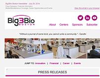 Big3Bio Responsive Newsletter Re-design/development
