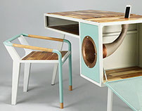 soundbox table and seat