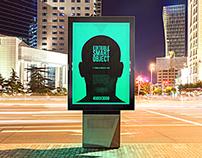Urban Flyer / Poster / Billboard MockUp - Night Edition