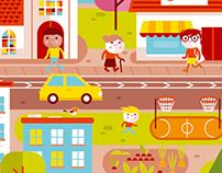 Illustration for US website
