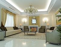 Residential Villa Classic Reception Interior Design