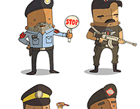 Islamabad Security Characters