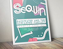 Sequin Gig Poster
