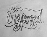 My Lettering Sketches