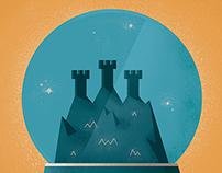 Back Home Illustration