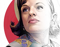 Live Drawing - Peggy Olson