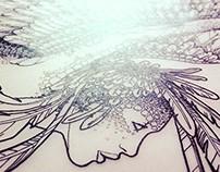 BIRD WOMAN Print Design 27.08.2014