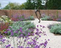 Country garden, Kent, UK