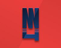 Nerlens Noel - NBA Player logo concept