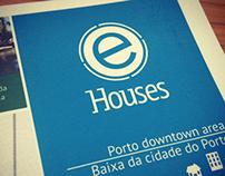 Porto downtown map for E-Houses