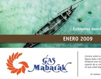 Calendario Gas Mabarak