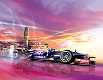INFINITI RedBull F1 RB9 RoadShow