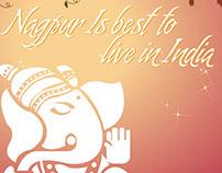 Poster Design of Ganesha Ji