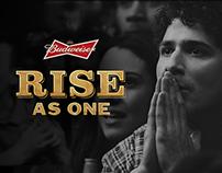 Budweiser   Rise As One