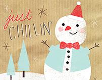 Festive Folly Christmas Cards