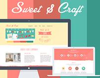 Colorful Flat UI Web Design