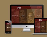 Website Marçal de Souza