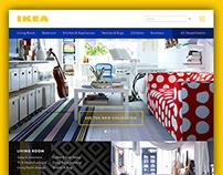 IKEA Website Concept