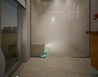 "Project: Small bath with ""Aquasteam"""