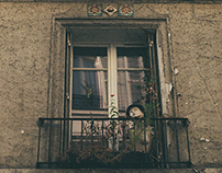 Windows and Front Doors of Paris (Analog Photography)