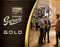 Gudang Garam Gold Print Ad Touch of Gold 1st