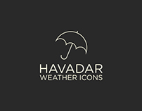 Havadar Weather Icons