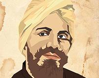 Mahakavi Bharathiyar Poster design - mywork karthikraj