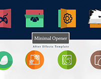 Minimal Logo Opener