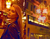 Neon Lights Hong Kong