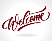 WELCOME | Hand Lettering
