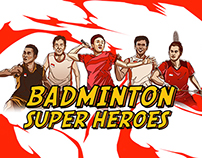 Badminton Superheroes Indonesia