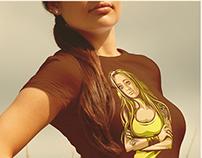 T-shirt Mock-up PSD